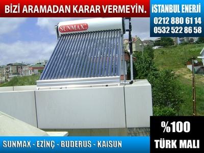 İstanbul Buderus Güneş Enerji Sistemleri Satış Servisi