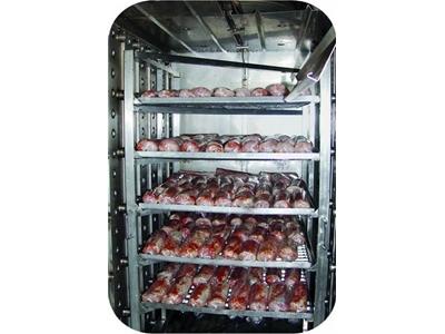 Nowicki PKE3 Üç Arabalı Et Pişirme Fırını