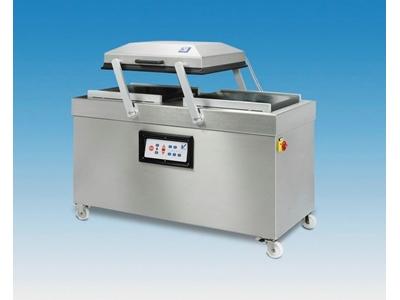 Çift Gözlü Vakum Ambalaj Makinesi 2x72x62x19 cm