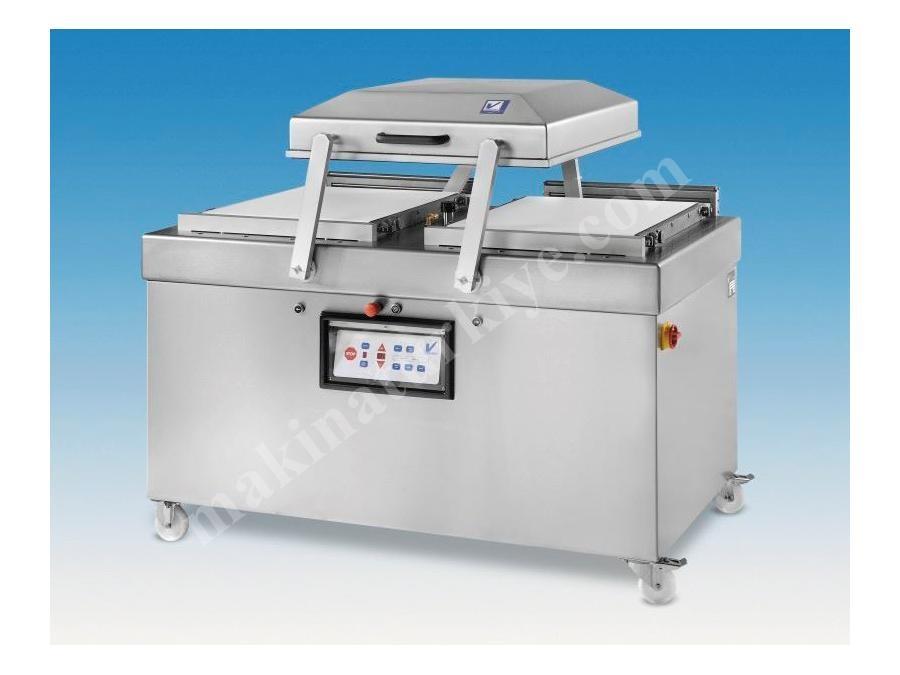 Çift Gözlü Vakum Ambalaj Makinesi 2X72x77x19 cm