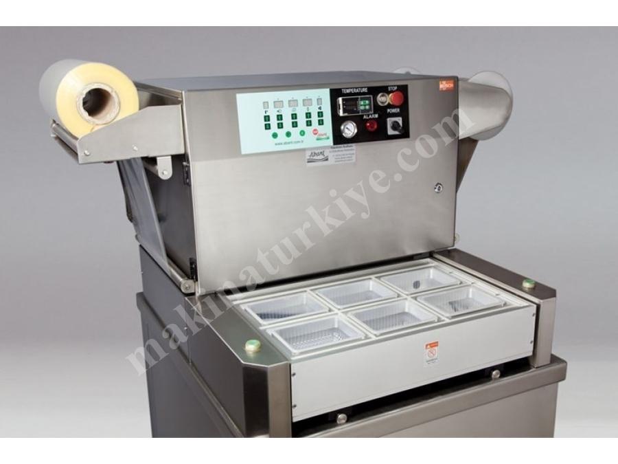 Abant Pack Mg53 Ts Kase Ve Kap Vakum Paketleme Makinası