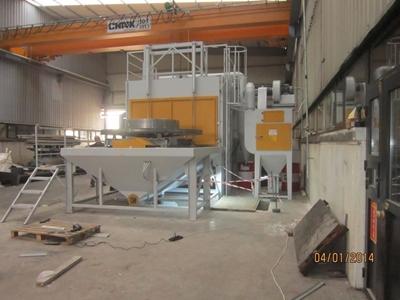 Otomatik Kumlama Makinası Abir Makine ASK-8