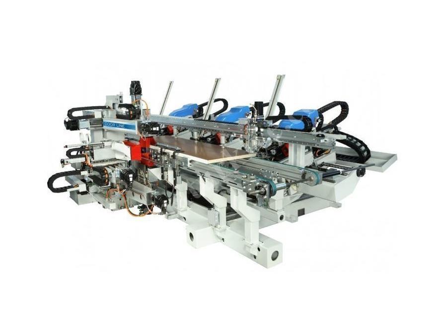 Cnc Kapı İşleme Makinası 2-4 M /Dakika (Doorline)