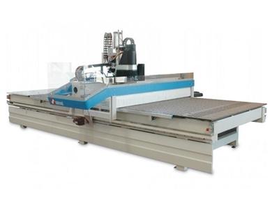 Düz Tabla Cnc Ahşap İşleme Makinası 2-4 M /Dakika (Mw 2142)