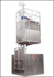 T1-10 1000 kg 12 Kişi Personel Ve Yük Asansörü