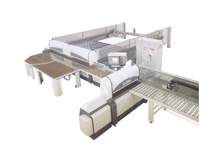 Cnc Çift Eksen Panel Ebatlama Makinası 4500 x 1550 mm