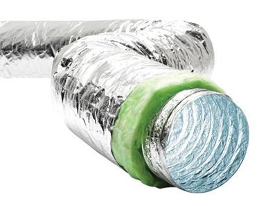Antimikrobiyal Fexible Hava Kanalı (SONOAFS-ALU Hygiene Green )