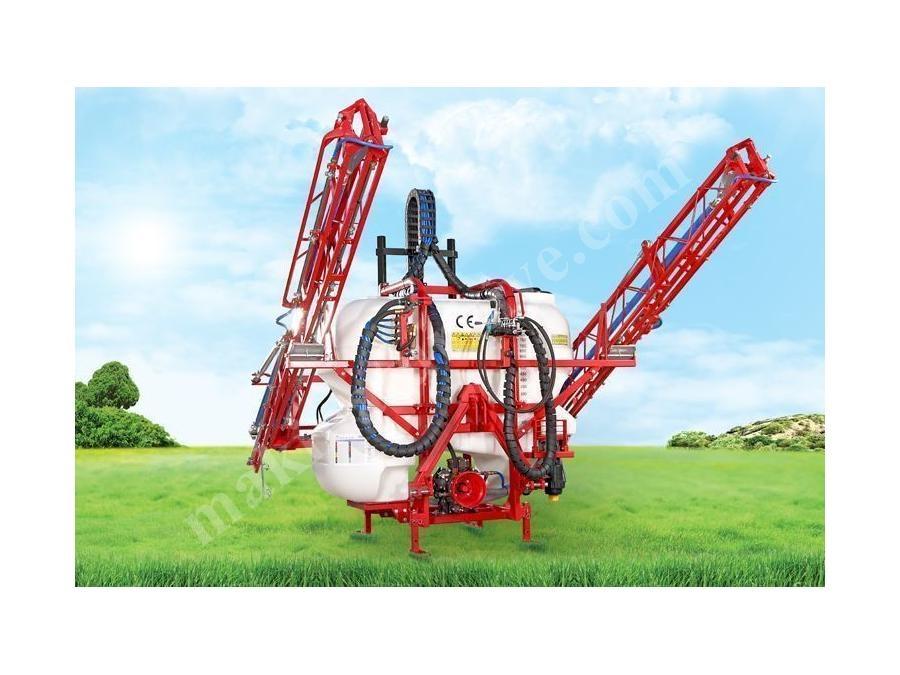 800 Lt, Asılır Tip Hidrolik Kumandalı Tarla Pülverizatörü