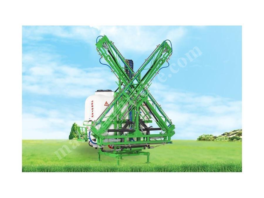 1000 Lt, Asılır Tip Piramit Model Hidrolik Kumandalı Tarla Pülverizatörü