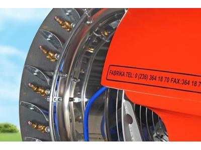 2000 Çekilir Tip Ters Turbo Atomizör