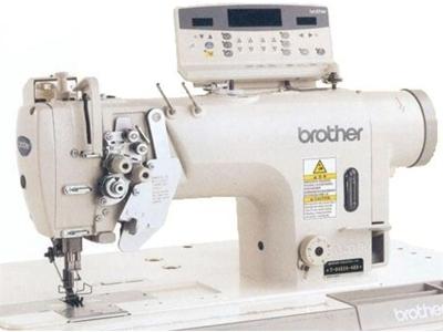 Brother İplik Kesmeli Büyük Mekik Çift İğne Makinası T-8752 B