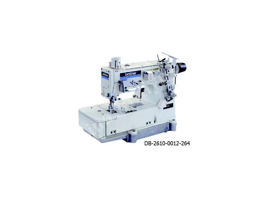 Brother Çift İğne Zincir Dikiş Makinası Db-2610-0012-264