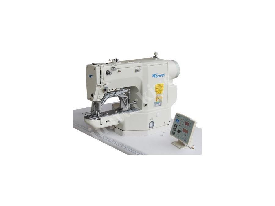 Broderi Elektronik Boxer Lastik Takma Makinası Bd-430D/B
