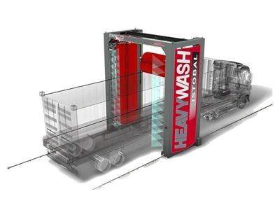 Endüstriyel Tipi Oto Yıkama Makinesi (Heavywash)