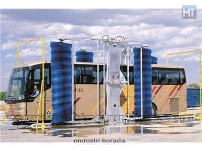 Pl Tipi Otomatik Otobüs Yıkama Makinesi