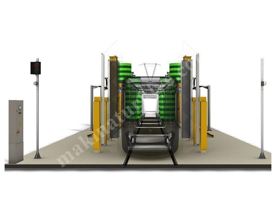 Endüstriyel Tipi Tren,Metrobüs Ve Tranvay Yıkama Makinesi