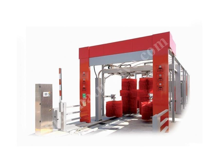 Tünel Tipi 4'Lü Oto Yıkama Makinesi