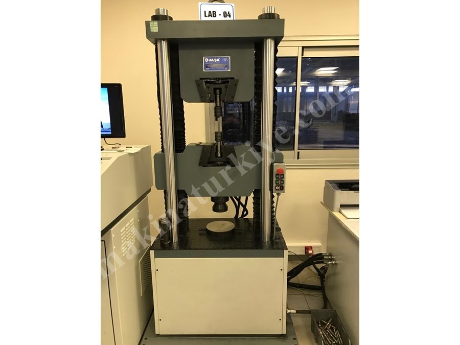 20 Ton / 200Kn 4 Kolonlu Hidrolik Universal Test Cihazı