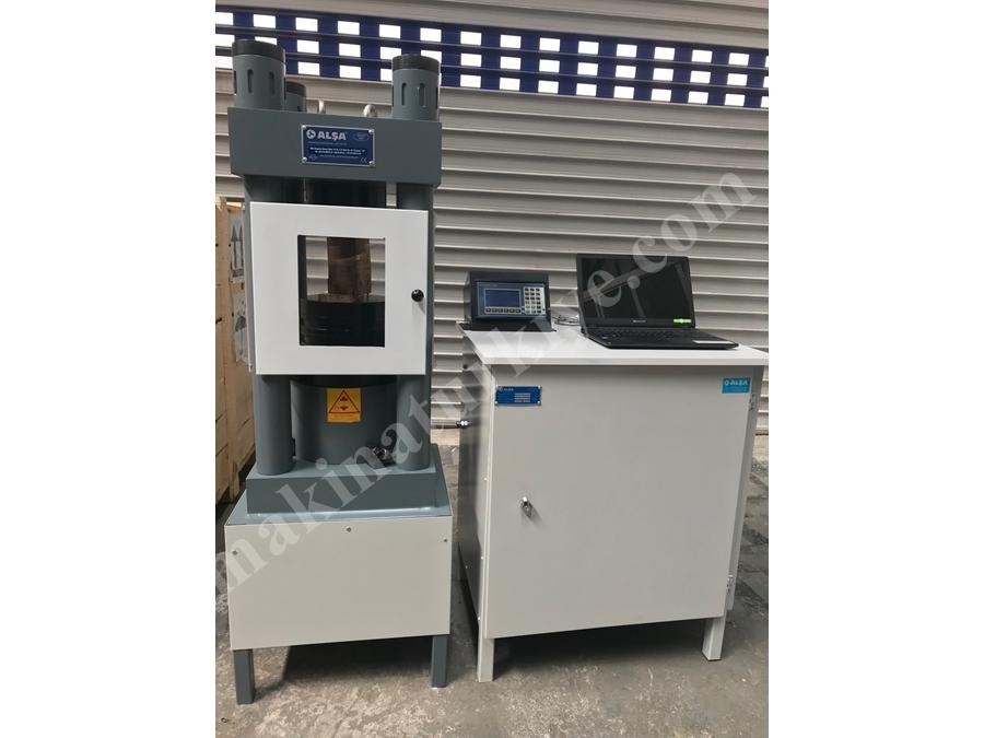 500 Ton / 5000Kn Teknopres-5000 Beton Test Presi