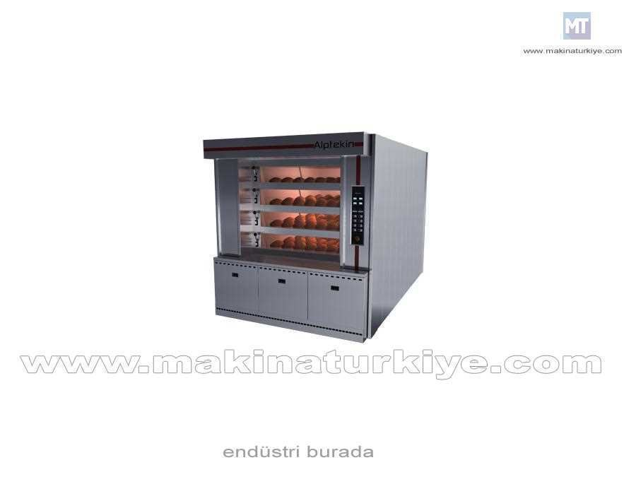 4 M² 4 Katlı Borulu Pişirme Fırınları (150 Adet/Saat )