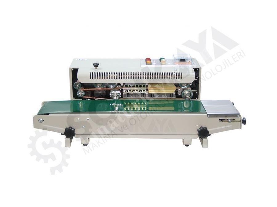 Sonkaya Konveyörlü Otomatik Poşet Yapıştırma Makinası