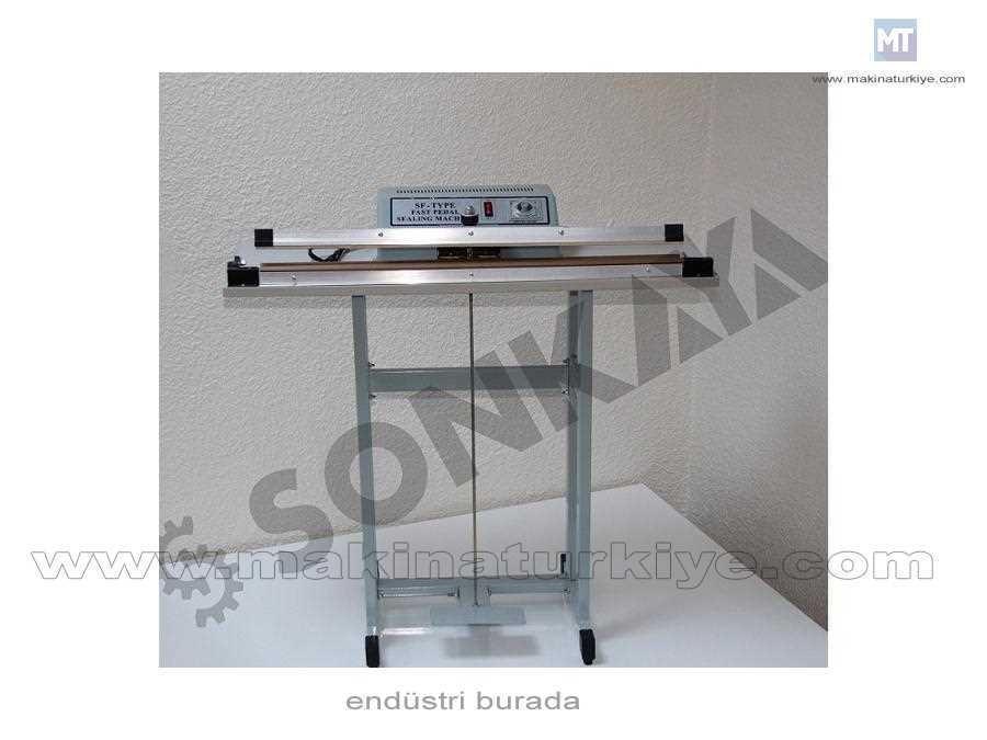 Sonkaya Pedallı Poşet Ağzı Yapıştırma Makinası 48Cm