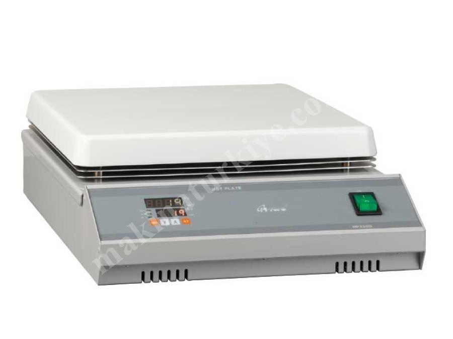 300X210 Mm Dijital Isıtıcı Tabla Laboratuvar Cihazı Hs320-D