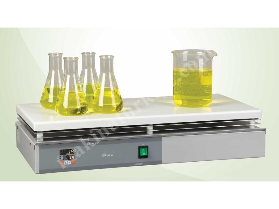 600X300 Mm Dijital Isıtıcı Tabla Laboratuvar Cihazı Hs630-D