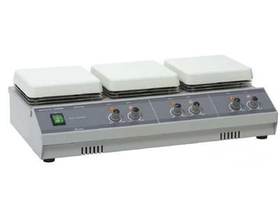 150X150 Mm Çoklu Isıtılıcılı Laboratuvar Manyetik Karıştırıcı Cihazı 26P