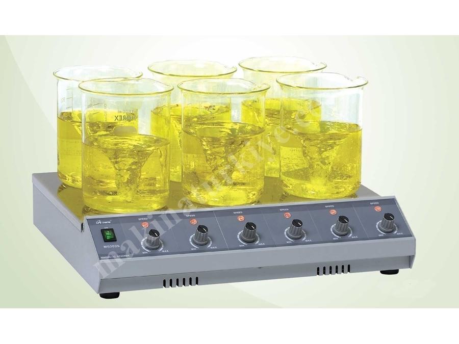 400X140 Mm Çoklu Laboratuvar Manyetik Karıştırıcı Cihazı Ms2100