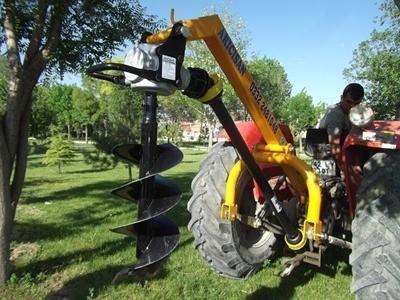 Çukur Açma Makinası 100x40 cm