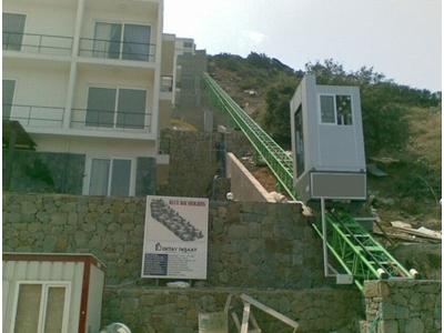 Kremayerli Yamaç Asansörü