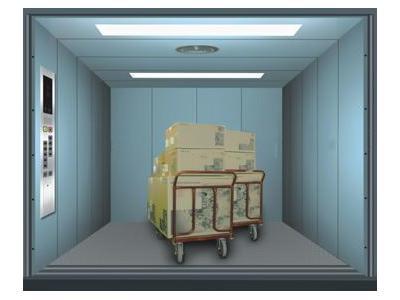 1500 Kg İle 12 Ton Kapasiteli Yük Asansörü