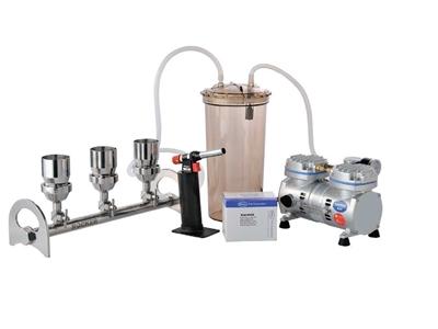 3 Portlu Vakum Filtrasyon Sistemi