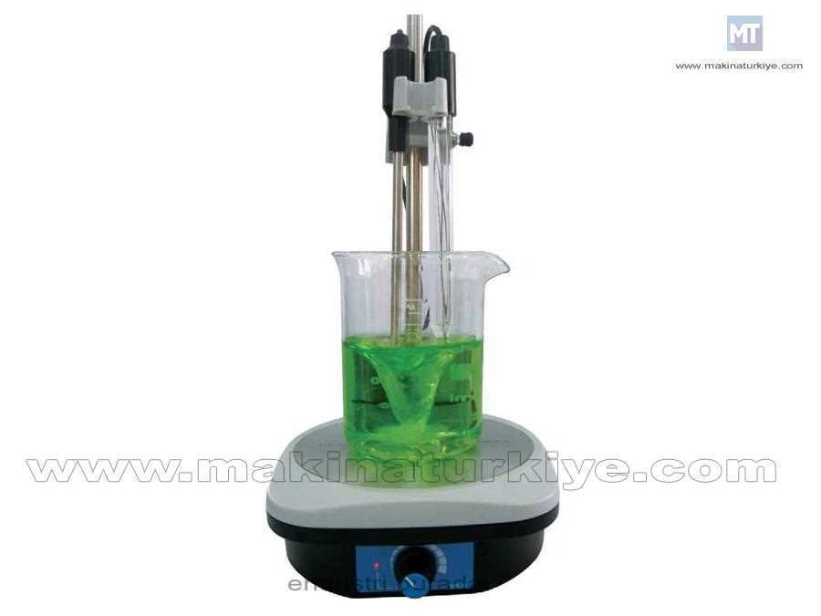 1 Lt Manyetik Karıştıcı Laboratuvar Cihazı