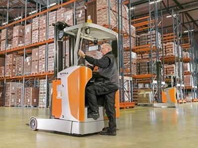 1400 Kg Dar Alan Forklifti (Reach Truck) Still Fm-X 14