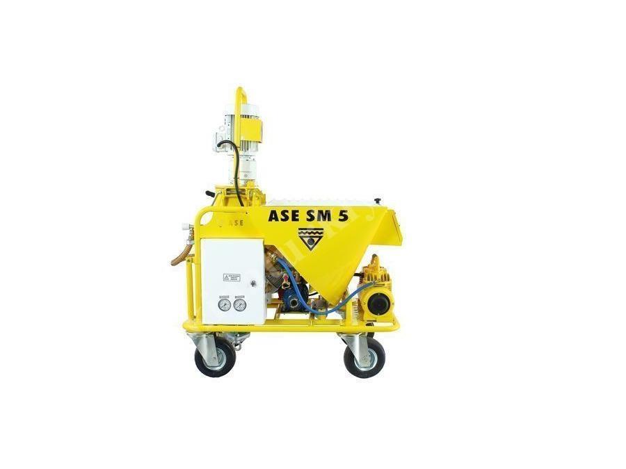 Hazır Sıva Makinası 25 Lt/ Dk Ase Sm 5 Dg