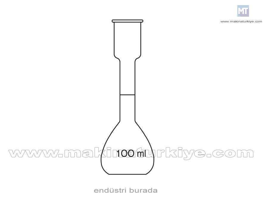 100 ~ 200 Ml Kohl Rausch Laboratuvar Balonu