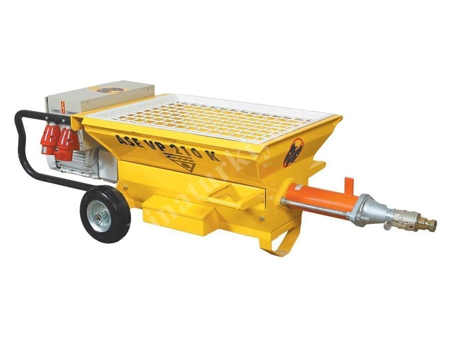 Harç Transfer Pompası 25 L/Dk Ase Vp 210 K