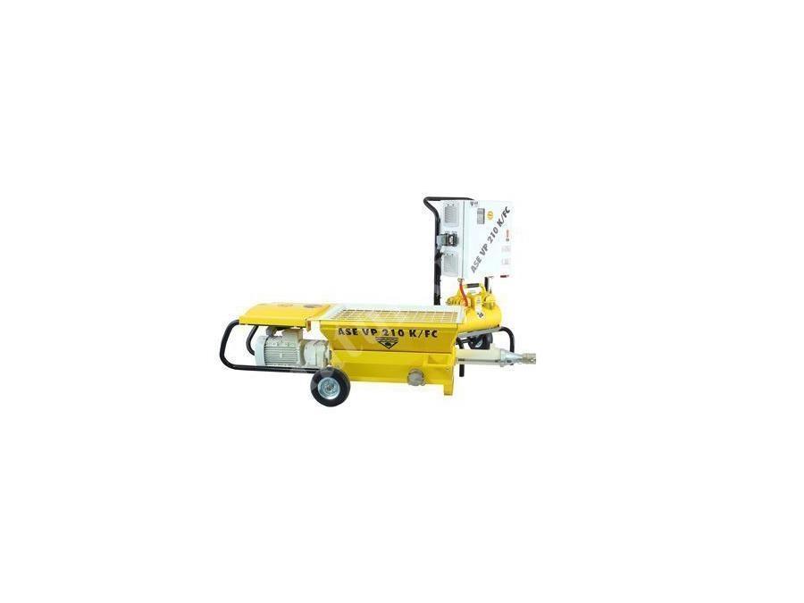 Harç Sıva Pompası 0-25 Lt / Dk Ase Vp 210 K/Fc
