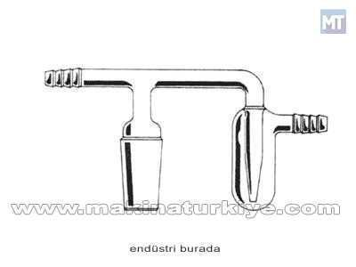 Horizontal Laboratuvar Bubbler 1