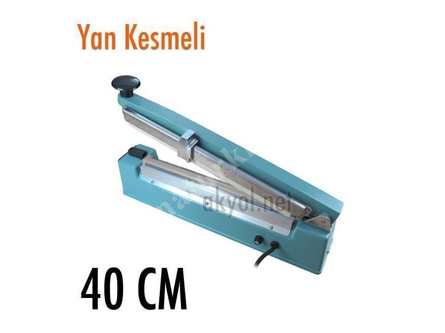 40 Cm Yan Kesmeli Poşet Yapıştırma Makinası Akyol Pfs 400 C