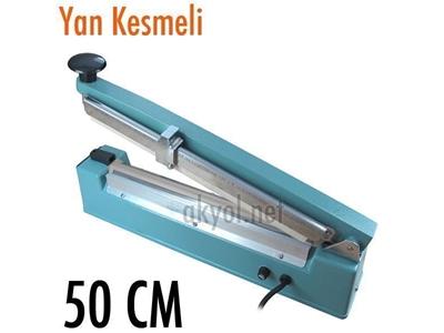50 Cm Yan Kesmeli Torba Ağzı Kapatma Makinası Akyol Pfs 500C