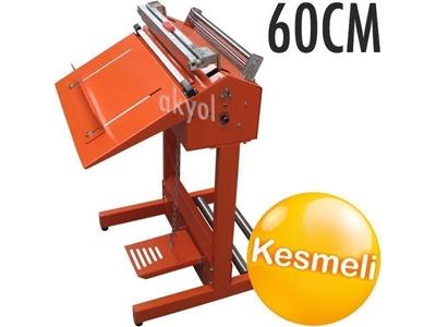 60 Cm Ayaklı Kesmeli Torba Ağzı Kapatma Makinası Akyol Sf600c