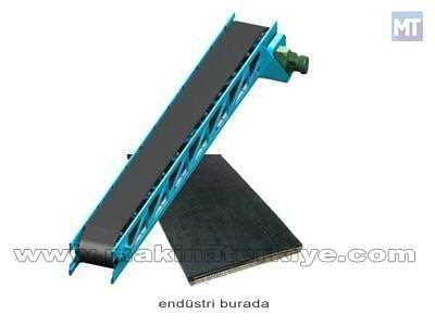 600 Mm Genişliğinde 4 Katlı 10 Mm Konveyör Band Akyol Fabrika Kb-6041