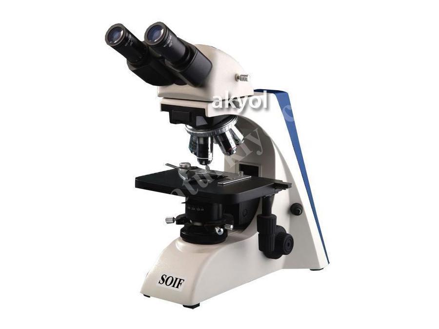 4X Objektifli Binoküler Laboratuvar Mikroskobu SOİF Bk5000-L
