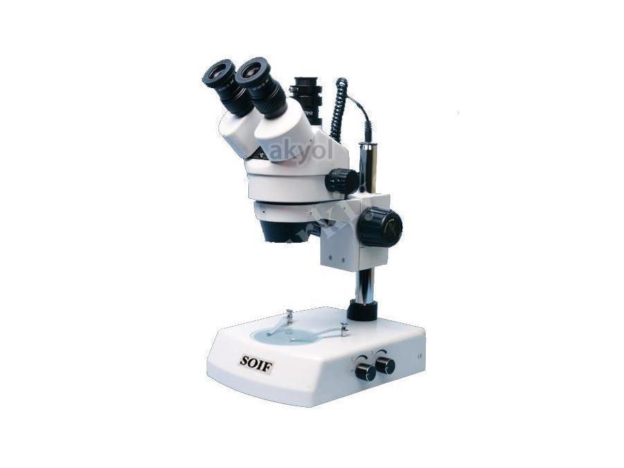 Trinoküler Stereo Zoom Mikroskop-45X Soif Szm45-T2l