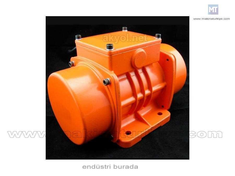 0,20 Kw Vibro Motor 570 Devir