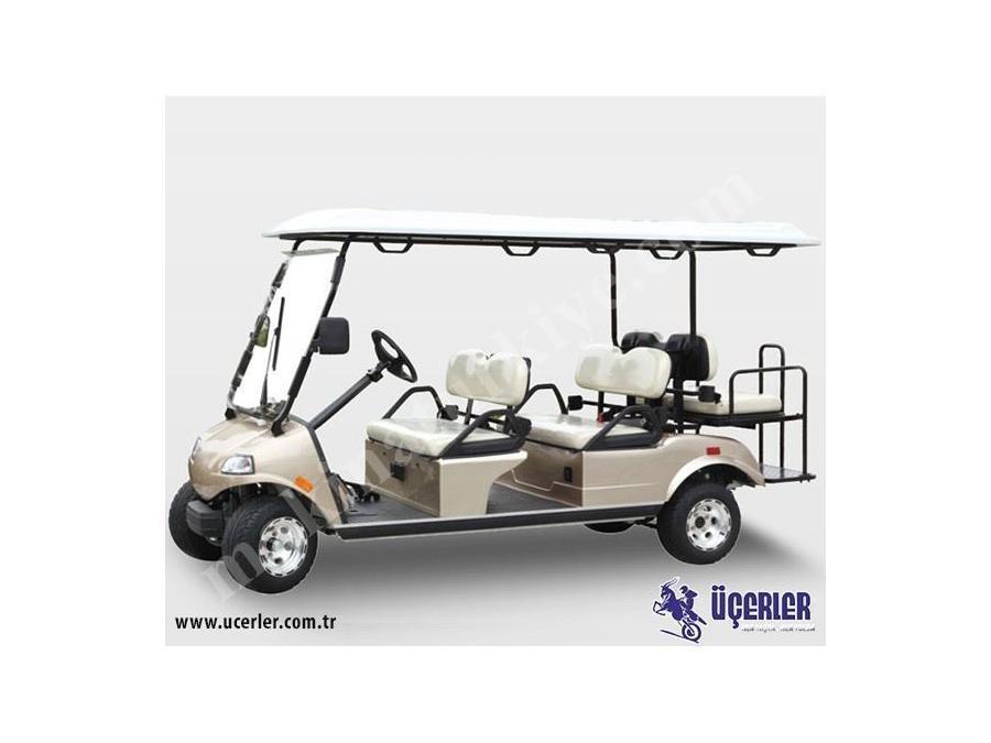 4000 W 2+2 Elektrikli Golf Aracı