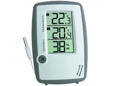 Kablolu Sıcaklık Ve Nem Ölçer Tfa 5024